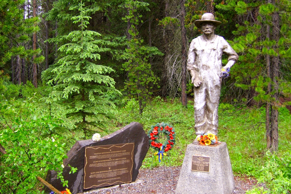 Monument on Highway 2