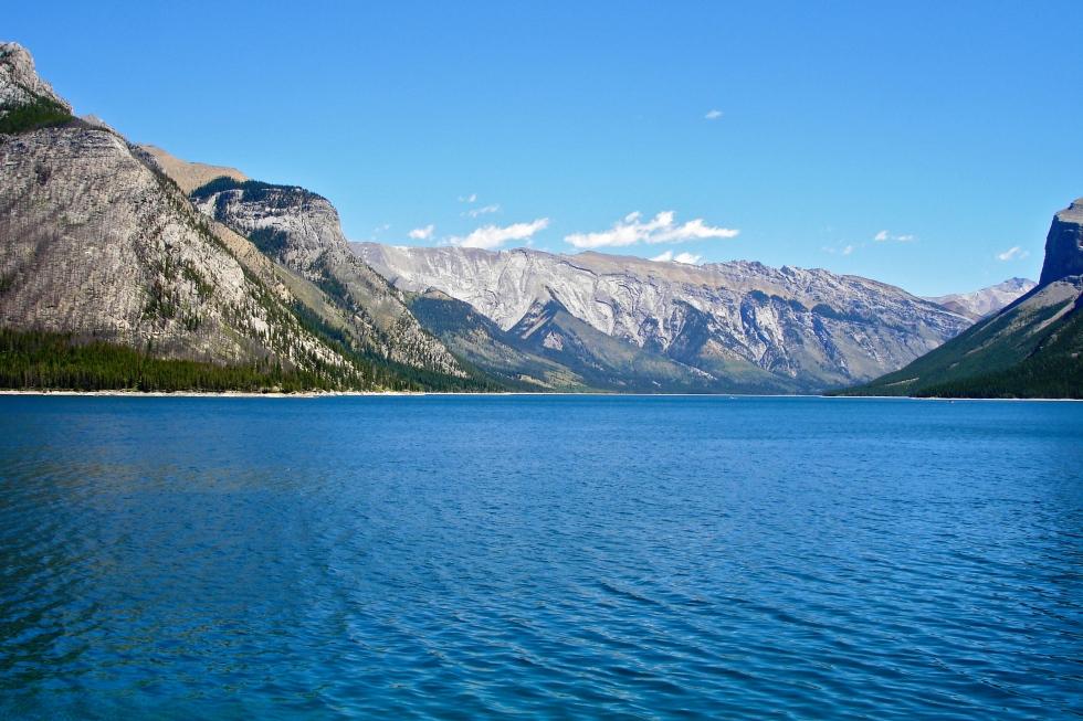 Lake Minnewanka - from the dam